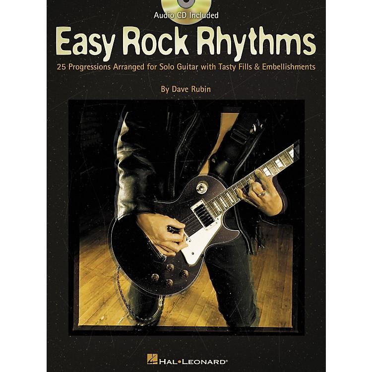 Hal LeonardEasy Rock Rhythms for Guitar Book with CD