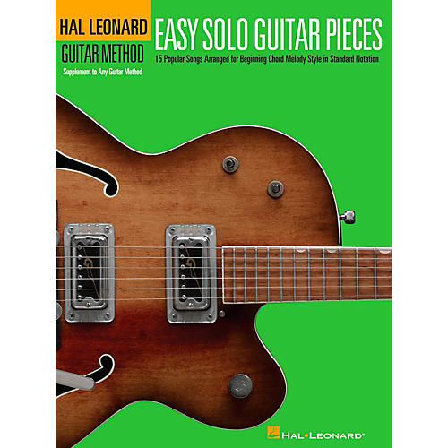 Hal Leonard Easy Solo Guitar Pieces - Hal Leonard Guitar Method Supplemental Songbook-thumbnail