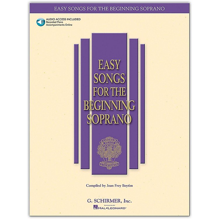 G. SchirmerEasy Songs for The Beginning for Soprano Book/CD