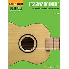 Hal Leonard Easy Songs for Ukulele Book - Supplementary Songbook To The Hal Leonard Ukulele Method