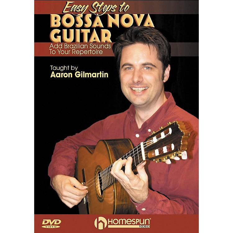 HomespunEasy Steps To Bossa Nova Guitar: Add Brazilian Sounds To Your Repertoire DVD