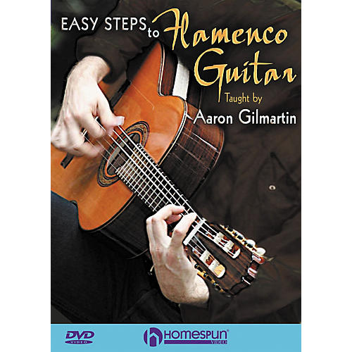 Homespun Easy Steps To Flamenco Guitar DVD
