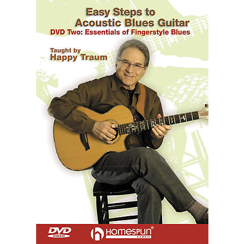 Homespun Easy Steps to Acoustic Blues Guitar (DVD)