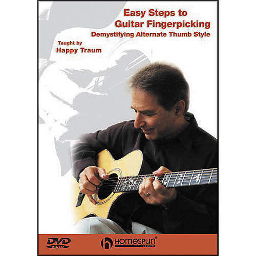 Homespun Easy Steps to Guitar Fingerpicking 1 (DVD)
