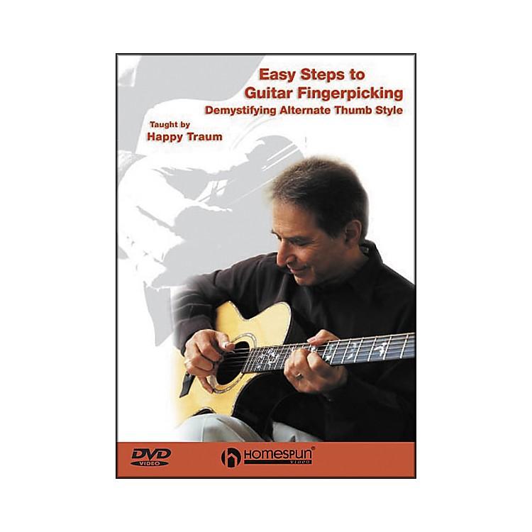 HomespunEasy Steps to Guitar Fingerpicking 1 (DVD)