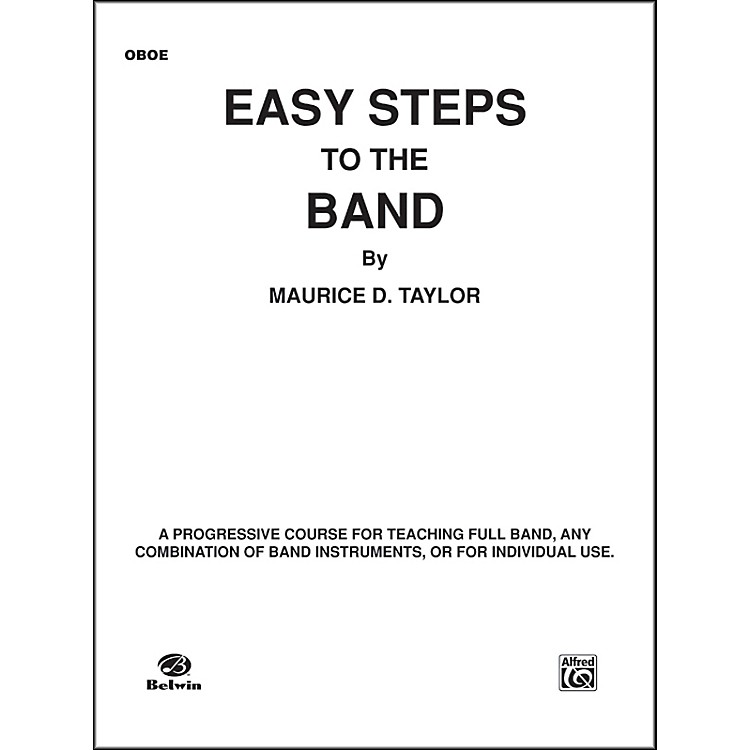 AlfredEasy Steps to the Band Oboe