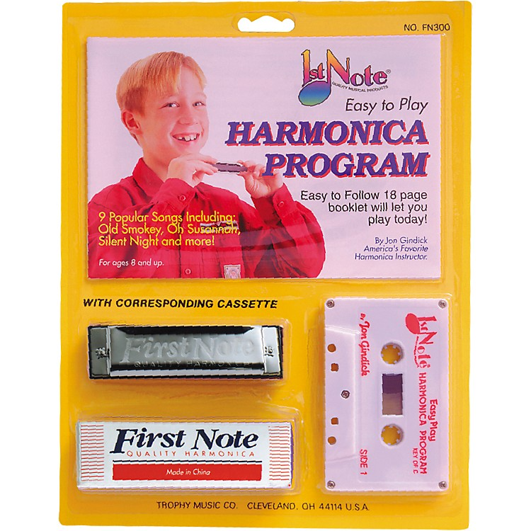 First Note Easy To Play Harmonica Instruction Program