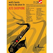 Ashley Publications Inc. Easy To Play Pieces For Alto Saxophone 21 Worlds Favorite World's Favorite (Ashley) Series