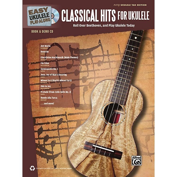 AlfredEasy Ukulele Play-Along Classical Hits for Ukulele Book & CD