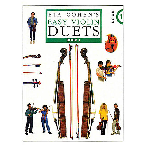Novello Easy Violin Duets - Book 1 Music Sales America Series-thumbnail