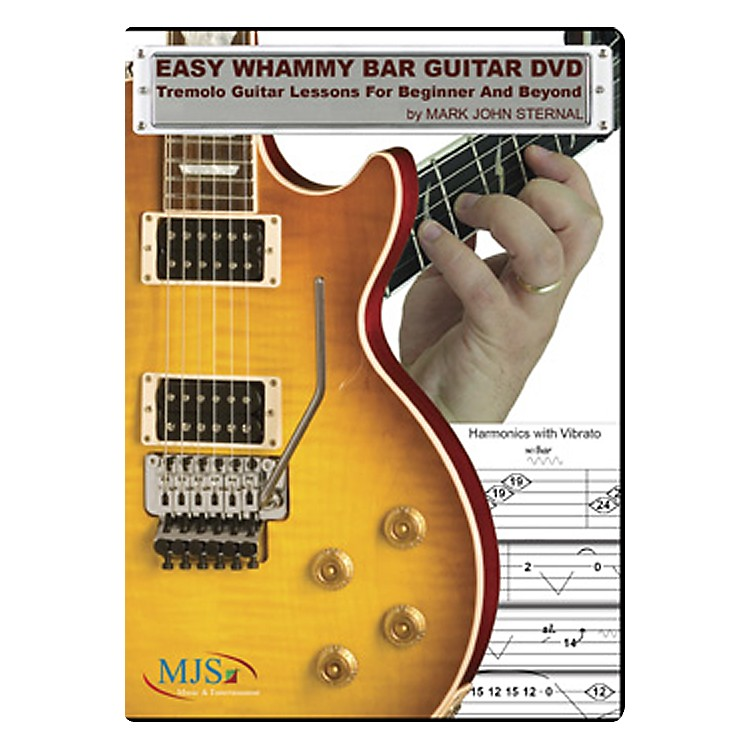 MJS Music Publications Easy Whammy Bar Guitar DVD