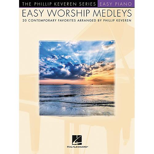 Hal Leonard Easy Worship Medleys Easy Piano Songbook