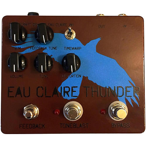 Dwarfcraft Eau Claire Thunder Fuzz Guitar Effects Pedal