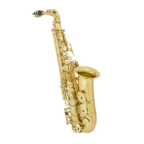 Antigua Winds Eb Alto Saxophone Black Nickel Plated Lacquered keys