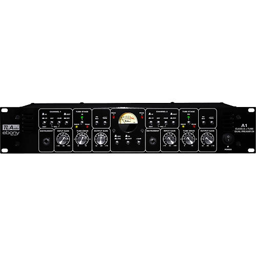 TL Audio Ebony A1 Discrete Class A and Tube Dual Preamp/DI