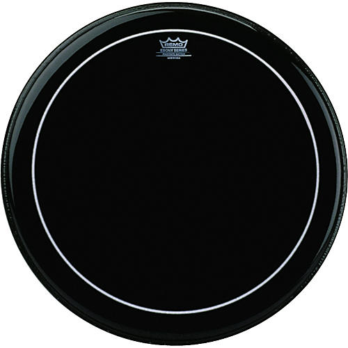 Remo Ebony Pinstripe Tom Head