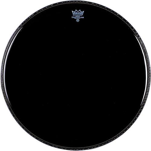 Remo Ebony Powerstroke 3 Resonant Bass Drum Head  18 in.