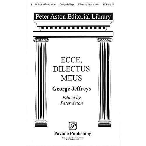 Banks Music Publications Ecce, Dilectus Meus TTB/SSA arranged by Peter Aston-thumbnail