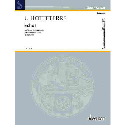 Schott Echoes (Alto Recorder) Schott Series
