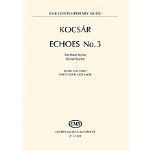Hal Leonard Echoes No. 3 For Three Horns Score And Parts EMB Series Book