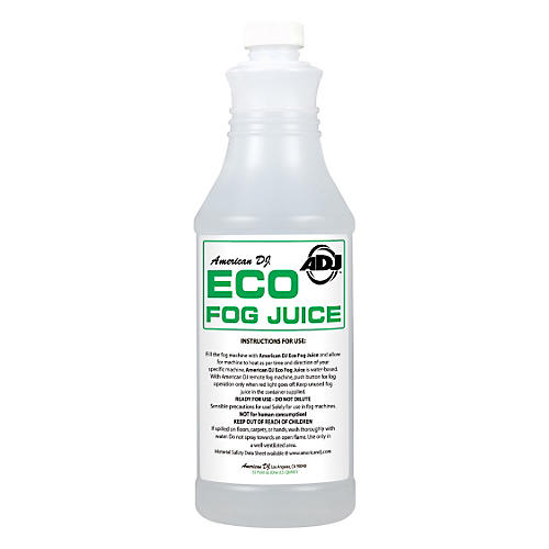 American DJ Eco Fog Juice - 1 Quart