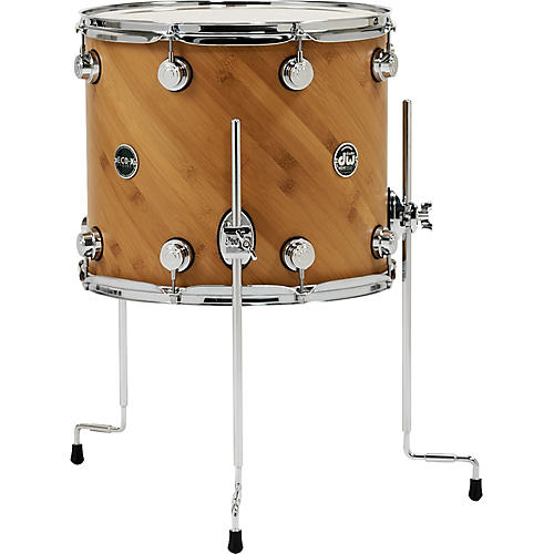 dw eco x floor tom ebony 16 x 14 in musician 39 s friend