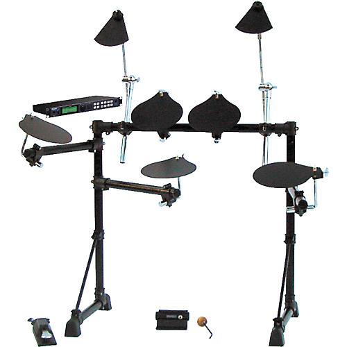 Pintech Eco8 Electronic Drum Kit with Alesis DM5 Module-thumbnail