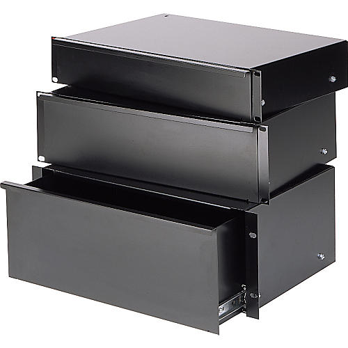 Raxxess Economy Sliding Rack Drawer  2 Space