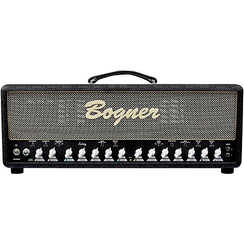 Bogner Ecstasy 101B 100W Tube Guitar Amp Head with EL34s Comet Black