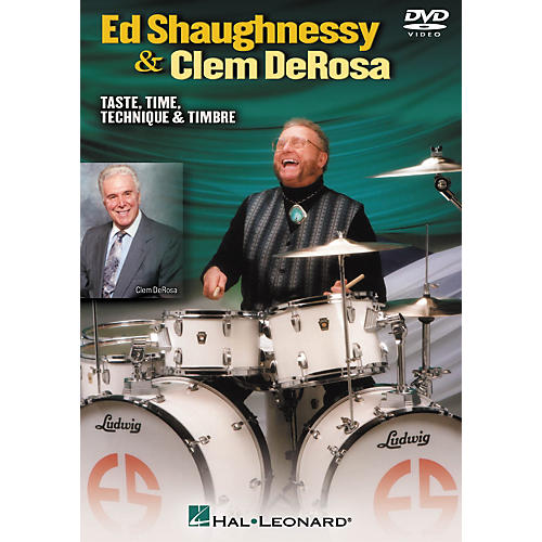 Hal Leonard Ed Shaughnessy and Clem DeRosa - Taste, Time, Technique and Timbre (DVD)-thumbnail