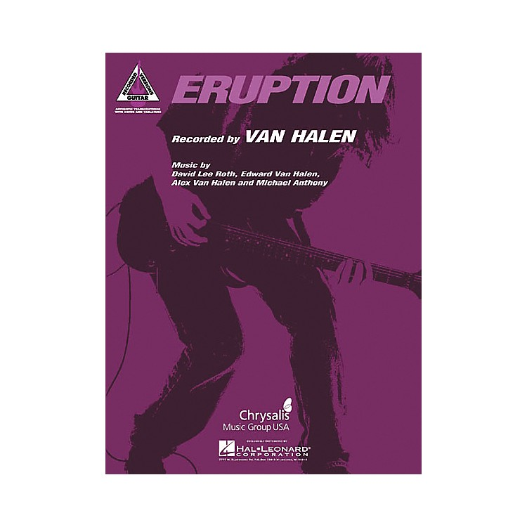Hal LeonardEddie Van Halen Eruption Guitar Tab
