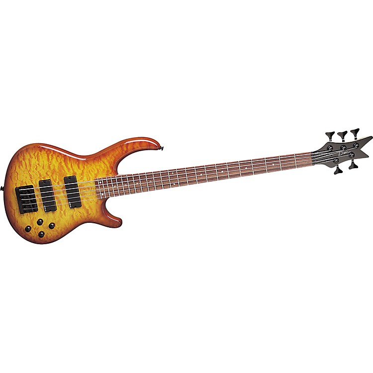 DeanEdge Q5 Quilted 5-String Bass