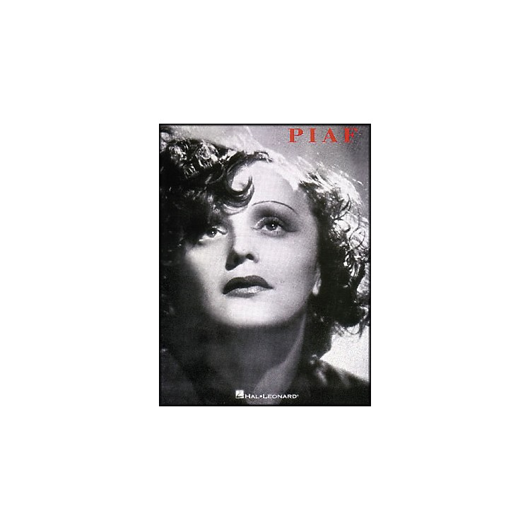 Hal Leonard Edith Piaf Song Collection arranged for piano, vocal, and guitar (P/V/G)