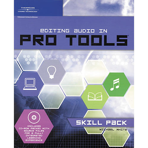 Course Technology PTR Editing Audio In Pro Tools: Skill Pack Book and DVD-thumbnail