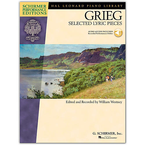 Hal Leonard Edvard Grieg - Selected Lyric Pieces Schirmer Performance Edition (Book/Online Audio)