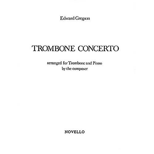 Music Sales Edward Gregson: Concerto For Trombone Music Sales America Series-thumbnail