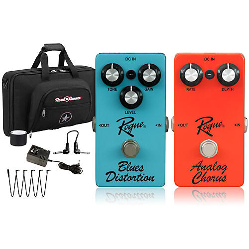 Rogue Effects Pedal Pack Blues and Chorus