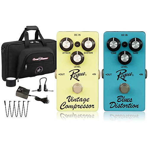 Rogue Effects Pedal Pack COMPRESSOR and BLUES