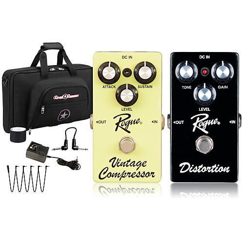 Rogue Effects Pedal Pack COMPRESSOR and DISTORTION