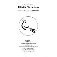 Transcontinental Music Eftakh Na Sefatay SATB arranged by Joshua Jacobson