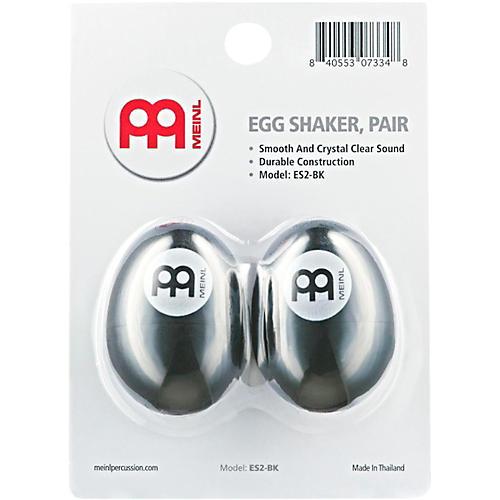 Nino Egg Shaker (Pair) Black
