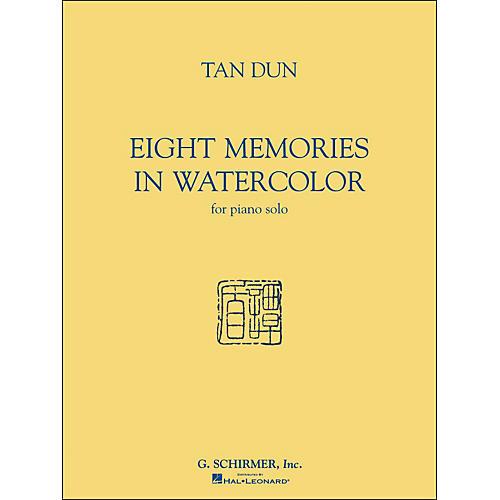 G. Schirmer Eight Memories In Watercolor for Piano Solo By Tan Dun-thumbnail