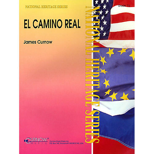 Curnow Music El Camino Real (Grade 1.5 - Score and Parts) Concert Band Level 1.5 Composed by James Curnow-thumbnail
