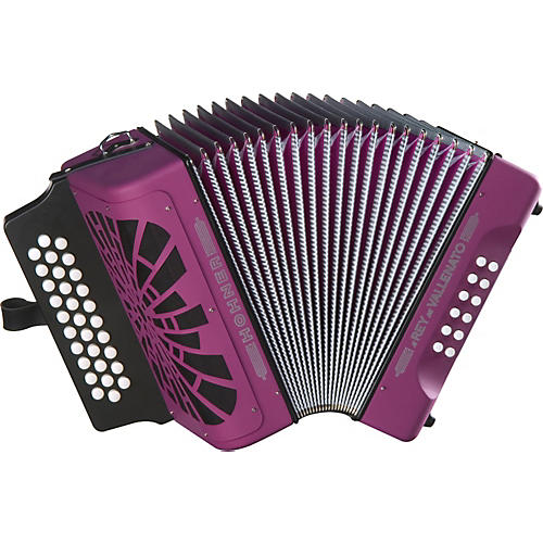 Hohner El Rey Del Vallenato FBbEb Accordion-thumbnail