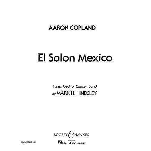 Boosey and Hawkes El Salón México (Score and Parts) Concert Band Composed by Aaron Copland Arranged by Mark H. Hindsley-thumbnail
