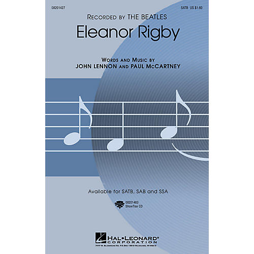 Hal Leonard Eleanor Rigby (SATB) SATB by The Beatles arranged by Roger Emerson
