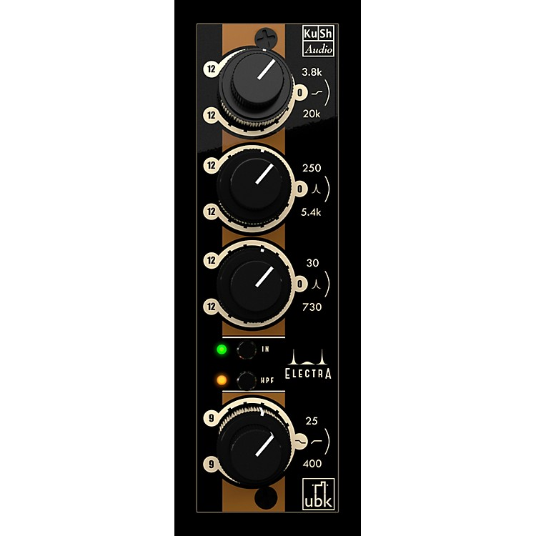 Kush AudioElectra 500 Dual Channel Electrified Transient Equalizer 500 Series