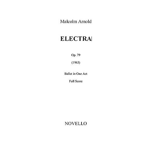 Novello Electra Op. 79 (Study Score) Music Sales America Series Softcover Composed by Malcolm Arnold-thumbnail