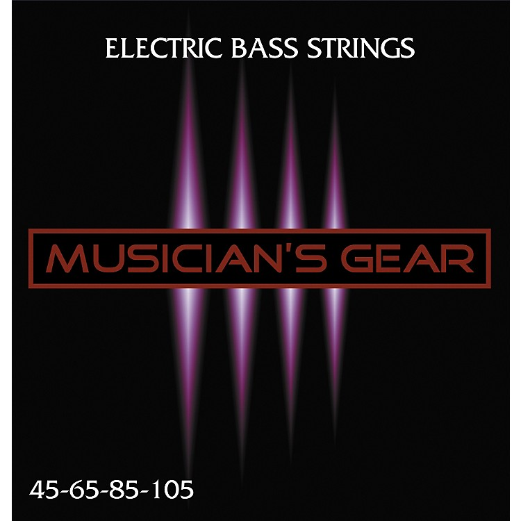 Musician's Gear Electric 4-String Nickel Plated Steel Bass Strings