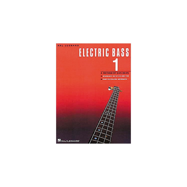 Hal Leonard Electric Bass 1 Book